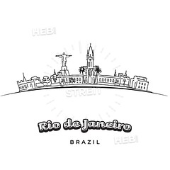 Rio de Janeiro panorama drawing (Hebstreits) Tags: abstract america architecture art background banner brazil brazilian building business city cityscape construction de design downtown drawing graphic graphics hand house illustration isolated janeiro landmark landscape line modern office outdoor outline panorama panoramic pen rio scape silhouette sketch skyline skyscraper south symbol tourism tower travel urban vacation vector vintage white