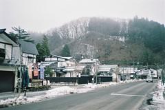 A street in Kakunodate (しまむー) Tags: canon af35m autoboy 38mm f28 fuji fujicolor 100 oga kakunodate 男鹿 角館