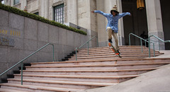 Los Angeles, California (tomst.photography) Tags: sakte skater skateboarding ollie stairs downtown losangeles la california southerncali sunstate sony sports sportphotography streetphotography tomst
