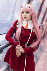 Zero Two - Darling in the FranXX (Florent Joannès) Tags: shooting shoot photo photography portrait photographie modeling mode makeup paris zerotwo 002 darling franxx 50mm cosplay irina 2019