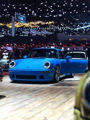 RUF SCR (Mattia Manzini Photography) Tags: ruf porsche 911 scr ctr supercar supercars cars car carspotting nikon d750 classic limited automotive automobili auto automobile switzerland geneva geneva2019 motorshow yellow blue spoiler
