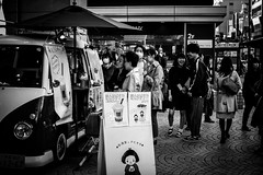 P2JG6473 (jojotaikoyaro) Tags: kichiojoji musashino tokyo japan fujifilm street streetphography snapshot candid monochrome xpro2 voigtlander nokton noktonclassics 35mmf14