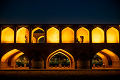 Sio Seh Pol Bridge at Night, Isfahan, Iran (CMGS1988) Tags: isfahan isfahanprovince 伊朗 ir