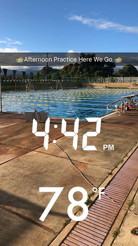 Afternoon practice in Hawaii
