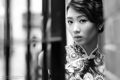 Wing (Francis.Ho) Tags: wing monochrome blackwhite bw 黑白 cheongsam chipao qipao chineseculture xt2 fujifilm girl woman female femme lady portrait people beauty pretty lips eyes hair face elegant glamour young sensuality fashion naturallight chinese daylight