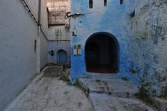 Chefchaouen, Morocco, January 2019 D700 295 (tango-) Tags: chefchaouen bluecity villaggioblu bluevillage morocco maroc 摩洛哥 marruecos марокко المغرب