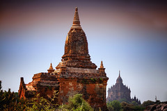 Bagan Temples (El-Branden Brazil) Tags: myanmar burma burmese monks buddhism buddhist southeastasia asian asia bagan temples happyplanet asiafavorites