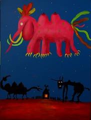 Sisi Elephant (alvasliapin) Tags: sisi elephant chest house monsters dream sky girl window bottle picture acrylic сиси слон груди дом чудовища сон небо девочка окно бутылка картина акрил