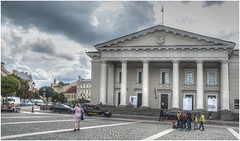 221- AYUNTAMIENTO DE VILNIUS - LITUANIA - (--MARCO POLO--) Tags: edificios arquitectura curiosidades hdr