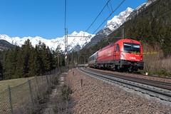 OBB1216_022-Colle-Isarco-2019-03-21-ClaudioGori©_DSC3001 (Claudio Gori) Tags: obb 1216022 e190022 fleres brennero ec81 rail ferrovia italia altoadige