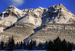 Mountain Views along the Icefields Parkway in Banff National Park, Alberta Canada (PhotosToArtByMike) Tags: icefieldsparkway banffnationalpark canadianrockies banff albertacanada mountain mountains alberta