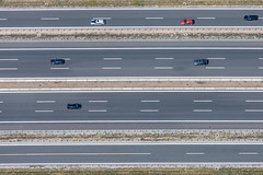 Red Car - 152 (Aerial Photography) Tags: by kt ufr 02072015 5d395494 6326264 a3 ak73102 autobahn autobahnkreuz autobahnkreuzbiebelried bavaria bayern biebelried deutschland farbe fotoklausleidorfwwwleidorfde fotoklausleidorfwwwleidorfaerialcom germany grafik grau linien luftaufnahme luftbild p1 parallelen region schwarz strasenverkehr vgkitzingen verkehr aerial black color colour graphicart graphics grey lines negro outdoor parallels redcar roadtraffic rotesauto traffic biebelriedlkrkitzingen bayernbavaria deutschlandgermany deu