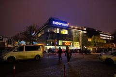 Katowice (nightmareck) Tags: katowice śląskie górnyśląsk silesia polska poland europa europe fujifilm fuji fujixt20 fujifilmxt20 xt20 apsc xtrans xmount mirrorless bezlusterkowiec xf16mm xf16mmf14rwr fujinon primelens night handheld
