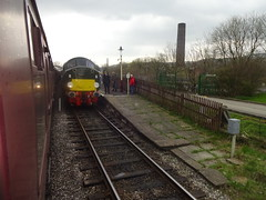 Ramsbottom (ee20213) Tags: eastlancsrailway class40 40sat60event ramsbottom 40013 andania brgreen d213 elr