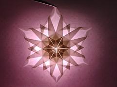 Snowflake by Tomoko Fuse (Zephyr Liu) Tags: origami kraft paper snowflake snow tomoko fuse