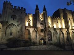 Palais des Papes (Elena DeLuca) Tags: avignon provence france palais des papes night