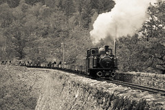 David Lloyd George on Cei Mawr (chrisjc90) Tags: ffestiniog train wales snowdonia heritage ffwhr