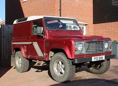 P101 DHH (Nivek.Old.Gold) Tags: 1996 land rover defender tdi county hardtop 2495cc 90