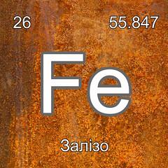 Хімічні елементи Залізо Fe InterNetri Ukraine