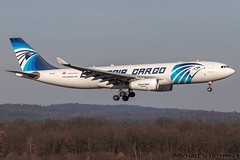 SU-GCE - Airbus A330-243(P2F) - EgyptAir Cargo (MikeSierraPhotography) Tags: a330 air airbus airlines airport cgn cgneddk cologne country deutschland egyptair flughafen germany köln manufacturer plane spotting town