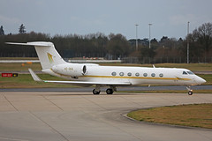 HZ-SK6 Gulfstream V Stansted 12th January 2019 (michael_hibbins) Tags: hzsk6 gulfstream v stansted 12th january 2019 corporate business executive corp private bizjet biz ttail aeroplane aerospace aviation aero airfields airport airplane airports plane planes jet jets