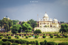 Gurdwara (AQAS.Clicks) Tags: architecture building history heritage lahore punjab pakistan walledcitylahore oldbuilding structure historical monuments masterpiece photography ngc travelpakistan beautifulpakisan travel canon perspective moments aqas gurdwara derasahib sikh temple
