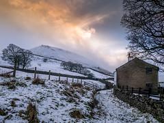 Misty Musbury (Matthew_Hartley) Tags: musbury tor winter snow snowy mist misty valley helmshore haslingden rossendale lancashire northwest england uk britain panasonic gm1 microfourthirds m43 mft vario 1232 1232mm