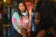 DSC_0871 Jamaican Ladies with Dreadlocks Alesha and Friend The Haggerston Pub Kingsland Road London (photographer695) Tags: susie from sierra leone west africa with dreadlocks alesha jamaican lady portrait the haggerston pub kingsland road london ladies friend