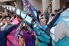 Rosenmontag (IV) (Elenovela) Tags: rosenmontag rosemonday karneval carnival parade umzug fancycostume karnevalskostüm germany deutschland people schmetterling butterfly trier panasonicgh5 olympus40150mmf28 elenovela karstenmüller