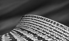 _DS20362 - Shark-fin shaped (AlexDROP) Tags: 2019 dubai uae emirates art travel architecture tower bw cityscape nikond750 afsnikkor28300mmf3556gedvr best iconic famous mustsee picturesque postcard