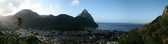 Good morning Soufriere (h_savill) Tags: 2019 february feb caribbean st lucia antilles windward isles holiday trip vacation exploreworldwide travel view landscape island soufriere piton rainforest walk tree green plant foliage stlucia town buildings bay sea water coast ocean hills