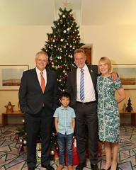 Nephew meets PM, Parliament House, 03/12/2018