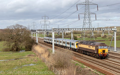 """Shape of Things to Come"" (MSRail Photography) Tags: class57 57 class769 769 class319 319 emu bimodal passenger ecs"