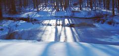 as the light cometh (larrynunziato) Tags: latewinter landscapephotography winterlandscape pond shadows minolta 28mm