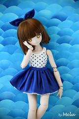 Navy (Melu Dolls) Tags: melu meludoll meludolls mdd volks minidolfiedream arles arle navy