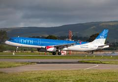 BMI G-MEDG (Scottish Photography Productions | David Pollock) Tags: glasgow abbotsinch international airport egpf gla aviation aircraft scotland bmi airbus a321 gmedg