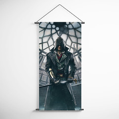 Assassin's Creed Syndicate 20 Decorative Banner Flag for Gamers (gamewallart) Tags: background banner billboard blank business concept concrete design empty gallery marketing mock mockup poster template up wall vertical canvas white blue hanging clear display media sign commercial publicity board advertising space message wood texture textured material wallpaper abstract grunge pattern nobody panel structure surface textur print row ad interior