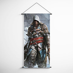 Assassin's Creed Black Flag 07 Decorative Banner Flag for Gamers (gamewallart) Tags: background banner billboard blank business concept concrete design empty gallery marketing mock mockup poster template up wall vertical canvas white blue hanging clear display media sign commercial publicity board advertising space message wood texture textured material wallpaper abstract grunge pattern nobody panel structure surface textur print row ad interior