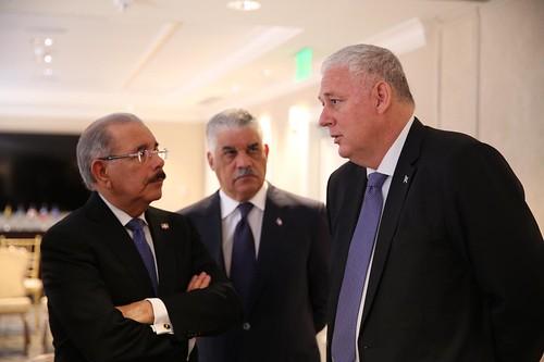 Previo a encuentro con Donald Trump, Danilo Medina se reúne con presidente de Haití y primeros ministros de Bahamas, Jamaica y Santa Lucía