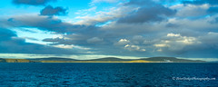 Albany cost early evening. Taken from a ship (Peter.Stokes) Tags: australia australian awayfromitall boats clouds coast coastline colour colourphotography countryside cruise landscape landscapes outdoors panorama photo photography saltwater sand sea sky summer vacations water waves westernaustralia nature river