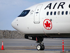 Air Canada Boeing B-737-8 MAX (ConcordeNick ArtPhoto) Tags: aircraft airplane airliner aviation aviationphotography transport transportation travel flight flying aircanada boeing boeingb7378max b7378max max8 concordenickartphoto concordenickartphotozenfoliocom olympus e5