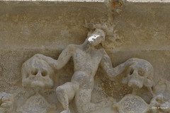Cathédrale de Auch, détail porte sud (jpto_55) Tags: cathédrale cathédralesaintemarie auch basrelief xt20 fuji fujifilm fujixf55200mmf3548rlmois gers gascogne france