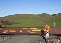 BNSF 239223 (imartin92) Tags: christie california bnsf railroad railway freight train well car