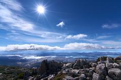 Mt Wellington - Tasmania (Nickolas Papadopoulos) Tags: tasmania mt wellington landscape sun star sony a7r11 wide angle
