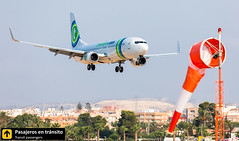 Boeing B737 Transavia PH-HSF (Ana & Juan) Tags: airplane airplanes aircraft airport aviation aviones aviación boeing 737 b737 transavia landing alicante alc leal spotting spotters spotter planes canon closeup
