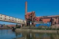 A walk along the Sambre IV (jefvandenhoute) Tags: belgium belgië belgique charleroi samber sambre walking river industry industrialarcheology