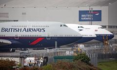 G-BNLY - Boeing 747-436 - LHR (Seán Noel O'Connell) Tags: britishairways ba ba100 speedbird retro landor negus boac boeing 747436 b747 b744 747 heathrowairport heathrow lhr egll aviation avgeek aviationphotography planespotting gbnly gcivb gbygc