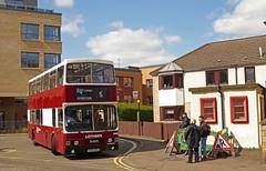 Lothain 322 (SRB Photography Edinburgh) Tags: lothian buses bus ukbus vintage heritage edinburgh running day historic