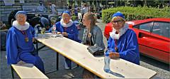 Pierrots de Spa, Rétrofolies 2018 de Spa, Belgium (claude lina) Tags: claudelina belgium belgique belgië spa voiture car rétrofolies oldcar ancêtres vieillesvoitures personnes pierrot pierrotsdespa