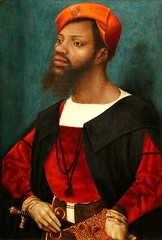 Jan Mostaert. Portrait of an African Man, perhaps Christophle le More. c.1525-30 (arthistory390) Tags: rijksmuseum